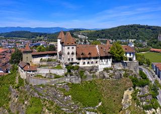 Schloss Burgdorf, Burgdorf, Kanton Bern, Schweiz
