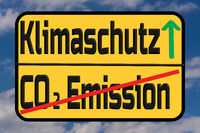 Klimate protection and CO2 emissions.