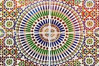 Moroccan tile motif