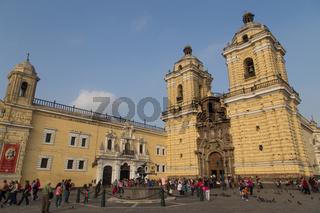 San Francisco Monastery in Lima