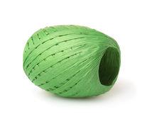 Green raffia paper ribbon roll
