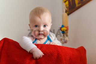 Portrait eines sechs monate alten Babys
