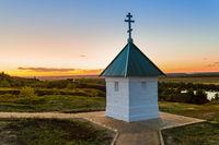 Chapel in the village of Konstantinovo (homeland of the Russian poet Sergei Yesenin) - Russia