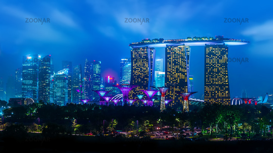 Marina Bay Sands Hotel at Singapore