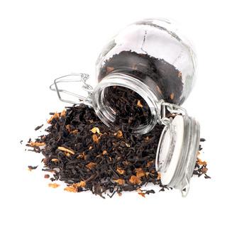Tea in a glass jar
