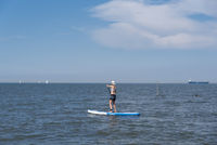 Stand up paddling by Cuxhaven