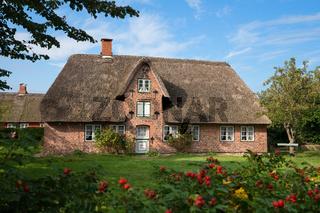 Frisian house, Amrum, Germany