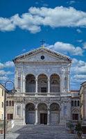 Saint Peter and Francis cathedral. Massa-Carrara. Tuscany. Italy
