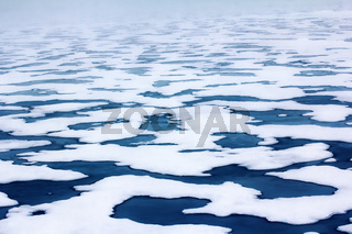 ice at North pole and near (from 84 to 90 degrees)