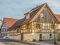 Historic half-timbered houses Steißlingen, Constance district
