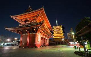 Sensoji temple in Tokyo
