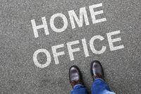 Home office work working corona virus coronavirus man business concept