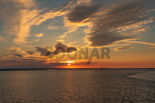 On the River Humber, near Paull, East Riding Of Yorkshire, England