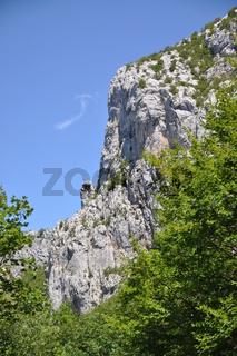 Paklenica-Schlucht, Kroatien