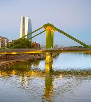 Frankfurt Green Bridge Central Bank