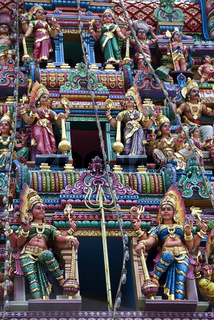 Detail eines indischen Hindu-Tempels