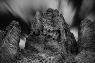 Rock Formation Long Exposure