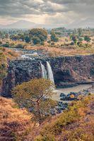 Blue Nile Falls in Bahir Dar, Ethiopia