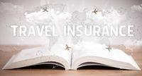 open book, vacation concept