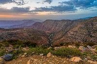 deep canyon in Afar Triangle region, Ethiopia