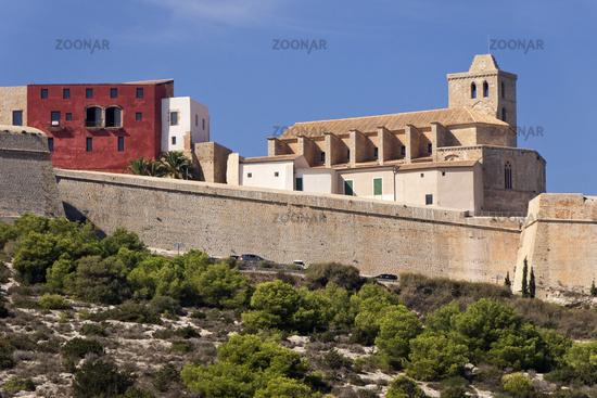 Cityscape Ibizza Old Town