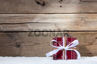 Weihnachten und Geschenk