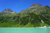 Vermunt-reservoir, Austria, Europe