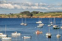Brittany coastal landscape