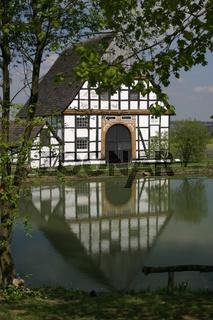 Fachwerkhaus am Dorfteich