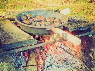 Retro look Barbecue picture