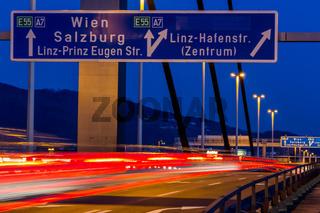Linz, Oberösterreich, Voestbrücke