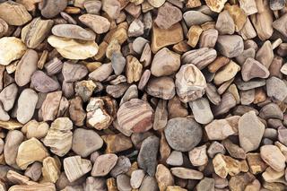 Grobe Steine braun Textur