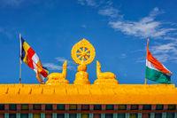 Buddhist Wheel of the Law
