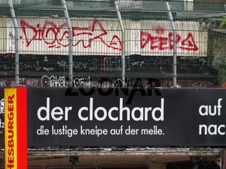 'Der Clochard' Kneipe in Hamburg-St.Pauli