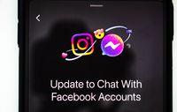 Calgary, Alberta. Canada. Nov 7 2020. Instagram and facebook Messenger update mix.