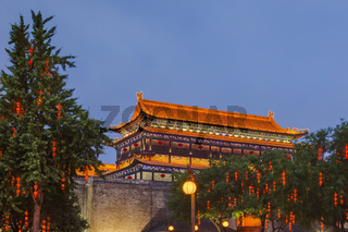 Fortress in old town - Xian China