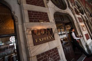 The Orient Express Restaurant Sirkeci Gar, Train Station, Istanbul,Turkey