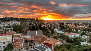 Sunset over Antananarivo