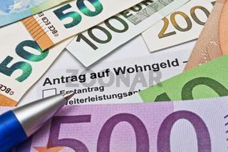 Wohngeld beantragen - Wohngeldstelle
