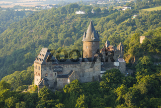 Jugendherberge Burg Stahleck, Jugendburg Stahleck, Bacharach am Rhein, UNESCO Welterbe Kulturlandschaft Oberes Mittelrheintal, Weltkulturerbe, Rheinland-Pfalz, Deutschland, Europa