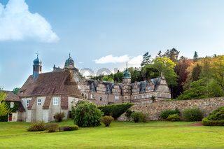 View of Malschenberg Castle, Lower Saxony, Germany