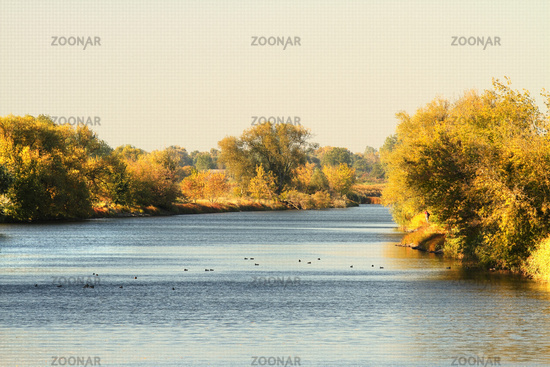 The Havel near the village of Garz