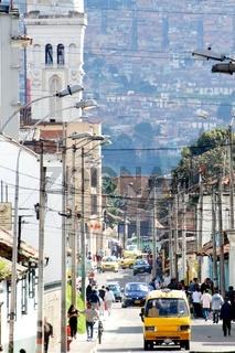 Bogota City Street