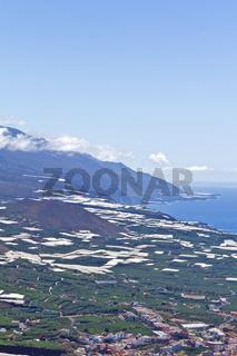 La Palma - Aridanetal mit Tazacorte