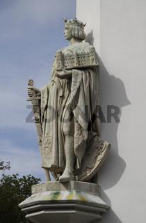 Skulptur am Bomann-Museum in Celle