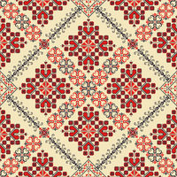 Romanian traditional pattern 123