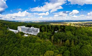 Luftbilder aus Bad Suderode Harz paracelsus klinik