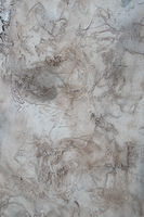 abstract stains of paint on plastered white wal