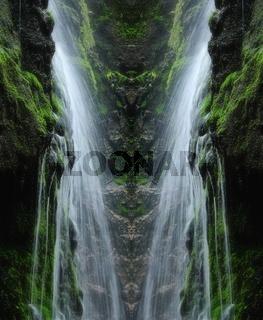 Wasserfall weich
