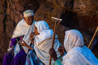 Group of elderly taking, Ethiopia